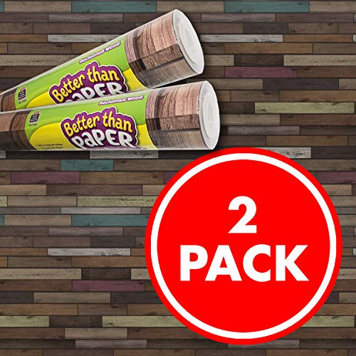 Reclaimed Wood Better Than Paper Bulletin Board Roll 2-Pack