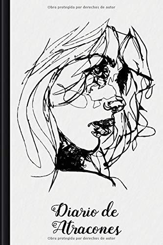 Diario de Atracones: Para rellenar y marcar con el diario de nutrición terapéutica, desafío de amor propio de 30 días, rastreador de habilidades, ... de ánimo diario | Motivo: Portrait Sketch