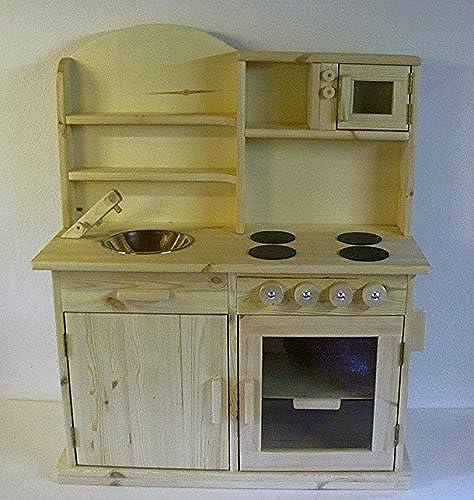 TTF Holz Kinderküche (Arbeitsplattenh  70cm)