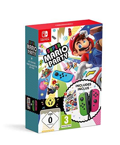 Giochi per Console Nintendo Super Mario Party + JoyCon