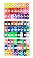 卓上棉品 アイロンビーズ パーラービーズ 5mm 72色 単色 単品 大容量 多色 最新色 おもちゃ 手芸 作品づくり DIY 手作り素材 (S01,3000pcs)