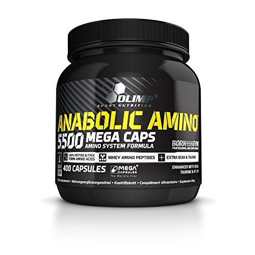 Olimp Anabolic Amino 5500 Mega Caps, 800 Kapseln, 2er Pack (2 x 464 g Dose)