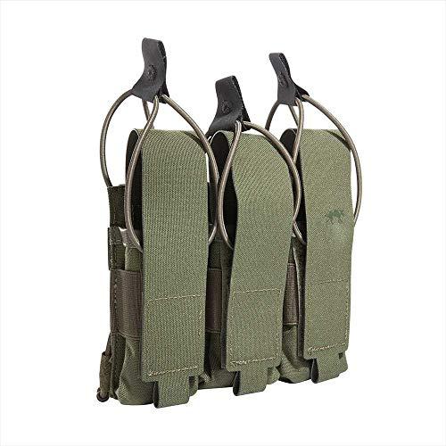 Tasmanian Tiger TT 3 SGL Mag Pouch MP7 Molle Kompatibles Magazin-Taschen Set für 3 mal 30 Schuss Magazine, Oliv