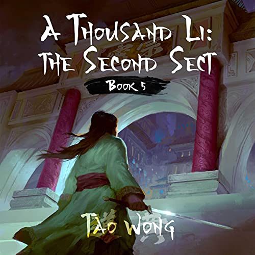 A Thousand Li: The Second Sect, Book 5 of a Xianxia Cultivation Epic Titelbild