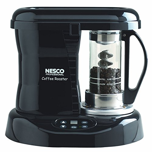 Nesco CR-1010-PR Coffee Bean Roaster, Black