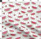 Misstiina, Fruchtig, Sommer, Obst, Wassermelone Stoffe -
