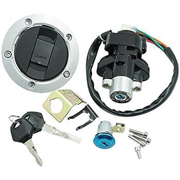 Ignition Key Switch Lock Set for Suzuki GSXR1000 SV650 GSXR750 ...