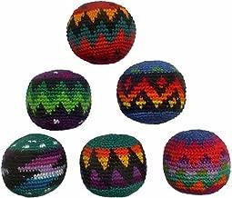 Set of 6 Hacky Sacks - Multicolor Design