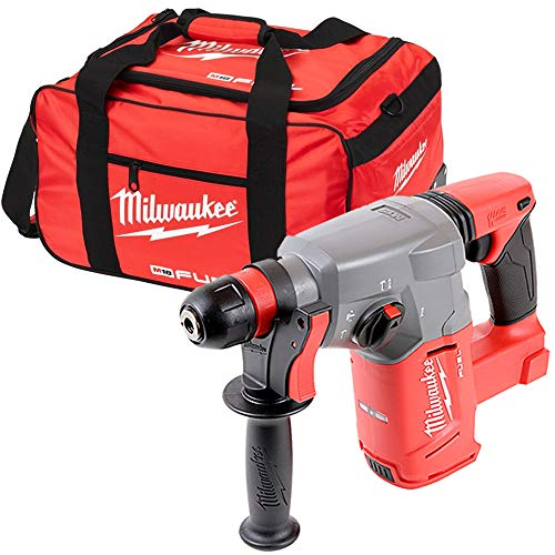 Milwaukee M18CHX 18V Fuel SDS Plus Hammer Drill with 19 inch Wheel Bag
