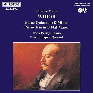 WIDOR: Piano Trio, Op. 19 / Piano Quintet, Op. 7