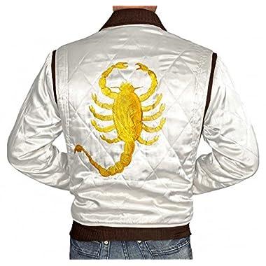 BlingSoul Drive Ryan Gosling Lightweight Bomber Jackets For Men (XL)