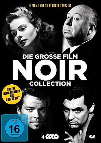 Die große Film Noir Collection [4 DVDs]