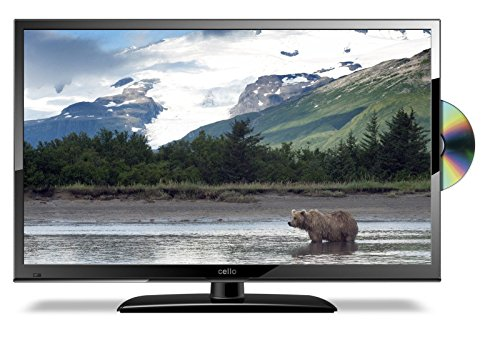 22' 12 Volt Full HD Digital Ultra slim DVD LED TV Caravan, Boat, Marine, HGV 24 V 12V