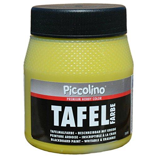 Tafelfarbe Hellgrün/Lindgrün 250ml - Piccolino Tafellack bunt für Holz, Karton, Wand