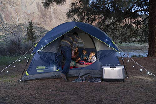 5191b2JS67L - Coleman 4-Person Dome Tent for Camping | Sundome Tent with Easy Setup