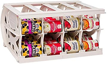 Thrive Life Cansolidator Pantry - Customizable Can Lengths - First In First Out Rotation - Designed for Canned Goods, for Cupboard, Pantry and Cabinet - Food Storage Organizer - Up to 40 Cans