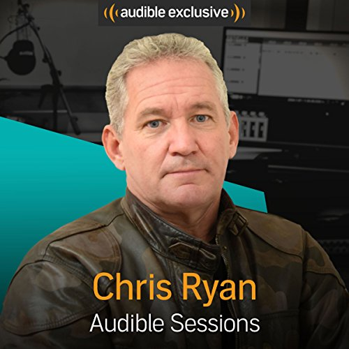 Chris Ryan audiobook cover art