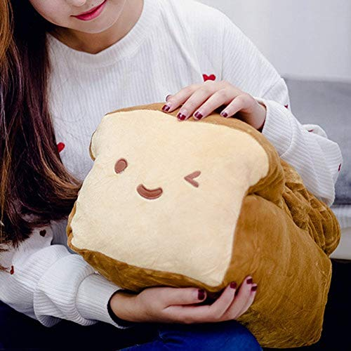 BREAD 6', 10', 15' Plush Pillow Cushion Doll Toy Gift Home Bed Room Interior Decoration Girl Child Gift Cute Kawaii by Cupid Gift Shop (10 inches) (Limited Edition)