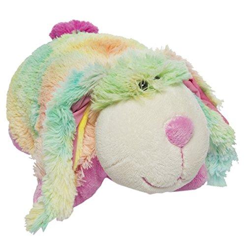 My Pillow Pets Pee Wee Rainbow Bunny 11'