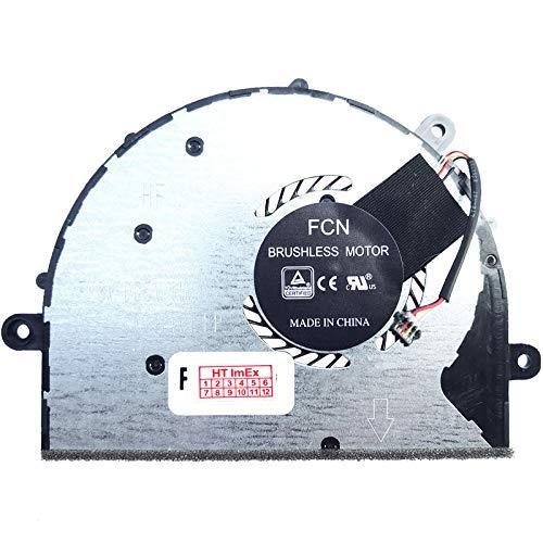 Ventilador de refrigeración compatible con Lenovo Yoga 720-12IKB (i3-7100U), 720-12IKB (i5-7200U)
