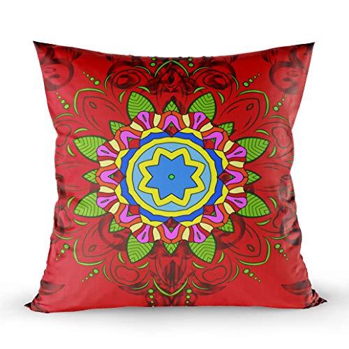 Kissenbezug für Sofa, Versace, 3D-abstrakter arabischer Hintergrund, Bandana, Kreis-Design, Punktemuster, ethnisches...