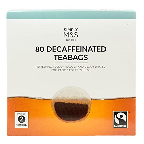 Marks and Spencer M&S   80 Decaffeinated Teabags