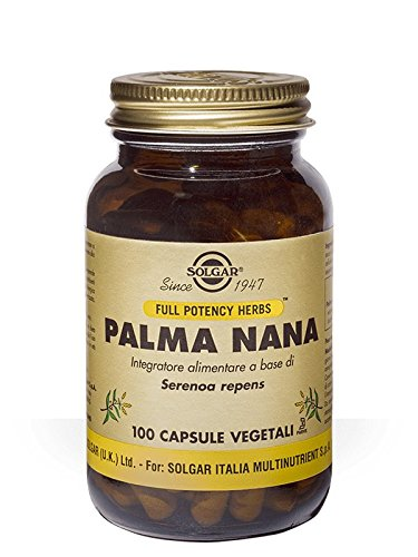Solgar Palma Nana 100 capsule vegetali