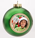 Holiday Voices 20 Second Recordable Ornaments - Keepsake Quality (Green)