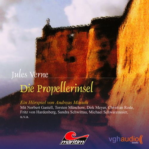 Die Propeller-Insel audiobook cover art