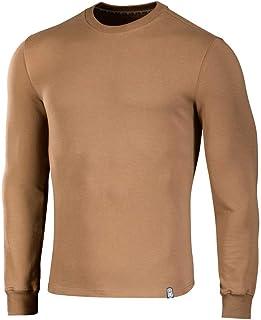 Mens 4 Season Pullover Slim Jumper Lining Sweatshirt Outdoor Sport Sweater