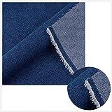 ZXC Super Dicker Jeansstoff, Blauer Jeansstoff, geeignet