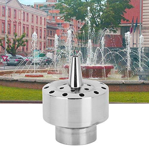 Têtes de buse de fontaine, tête de pulvérisation d'arroseur de buse de style de colonne de fleur de fil femelle DN40 de 1,5in DN40 pour le jardin familial, la piscine de jardin et la fontaine de parc