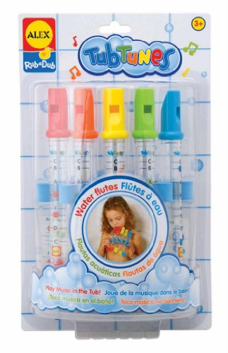 Alex Toys Water Flutes Tub Tunes