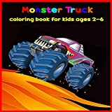 Monster Truck Coloring Book For Kids ages 2-6: coloring book for toddlers, coloring book for boys and kids, monster truck coloring pages, Fun Coloring Book For Kids.
