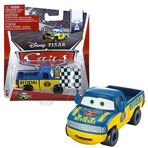 Disney Pixar Cars 2 Dexter Hoover With Checkered Flag - Voiture Miniature Echelle 1:55