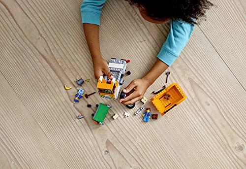 LEGO 60220 City Camión de la Basura de Juguete, Juegos de Coches y Regalos para Niños y Niñas +4 Años con 2 Mini Figuras