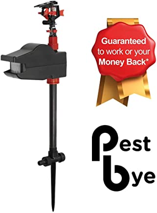 Pestbye® Jet Spray Battery Operated Motion Activated Cat Scarer & Repellent - Animal Repeller