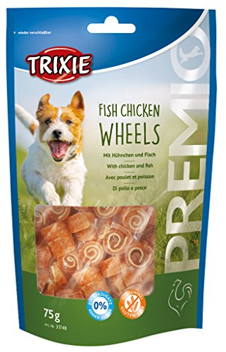 Trixie 31748 PREMIO Fish Chicken Wheels, 75 g