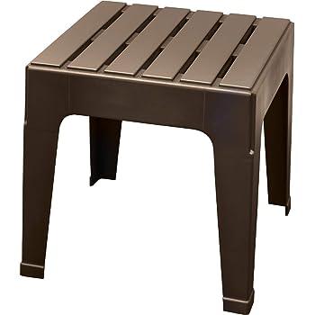 ADAMS MFG PATIO FURN 8090-60-3731 Big Easy Brown Stack Table