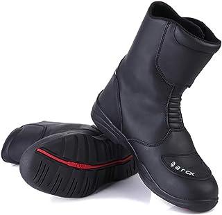 010fa930f85 Impermeable Zapatillas De Moto Piel De Vaca Ocio Corto Desnudo Las Botas  Deportes Al Aire Libre