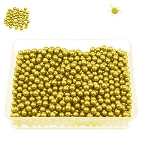 PREDATOR Paintball Kugeln, Cal. 0.40 für Blasrohr und Paintball Markierer, Premium Paintballs + 200, 500, 1000, 3000 Stück + Farbauswahl (Gelb, 1000)