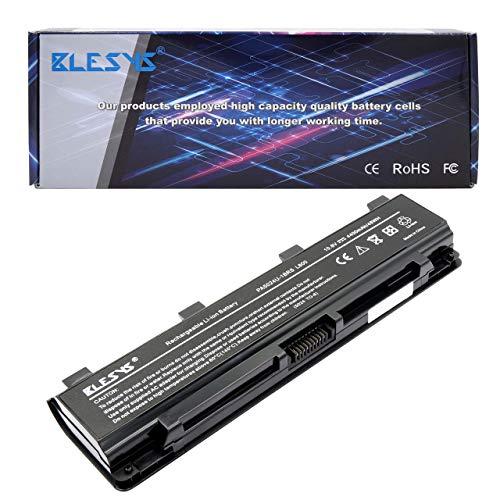 BLESYS 6-Cell PA5024U-1BRS batería PA5023U-1BRS PA5025U-1BRS PABAS259 Compatible con batería de portátil Toshiba Satellite C800 C850 C850D C855-S5206 C855-S5214 C855D C870 L800 L830 L855 L870 P800