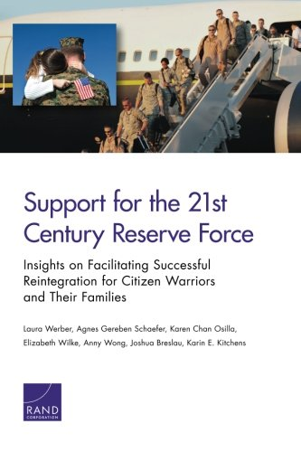 Support for the 21st-Century Reserve Force: Insights to Facilitate Successful Reintegration for Citizen Warriors and Their Familiesの詳細を見る