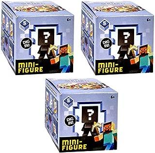 Mattel Minecraft Series 5 ice Series (3 Blind Boxes)