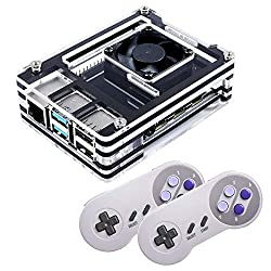 in budget affordable Ultimate Retropie 256GB Raspberry Pi 4 Retro Game Console Complete Build 50+ Consoles