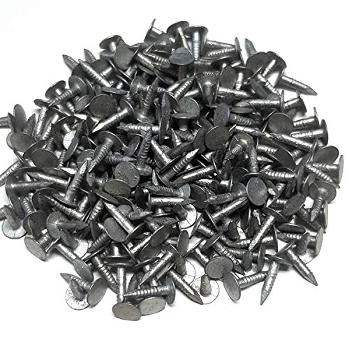 Alpholz Dachpappnägel Dachpappstifte Pappnägel Feuerverzinkt 2,5 x 15mm 130 Stück 200 gr