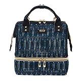 Fanspack Pañal Bolso Cremallera Simple Moda Pañal Mochila Pañal Bolso para Mujeres Damas