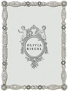 ASBURY Austrian Swarovski Crystal 5x7 frame by Olivia Riegel - 5x7