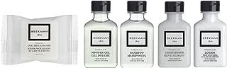 Beekman 1802 Fresh Air Travel Set Shampoo Conditioner Lotion, Shower Gel, Soap