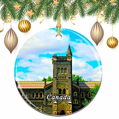 albero di natale ontario Canada Ontario Toronto Natale Albero di Natale Ornamento Decorazione Matrimonio Ciondolo Appeso Decorazione Città Viaggio Souvenir Collection